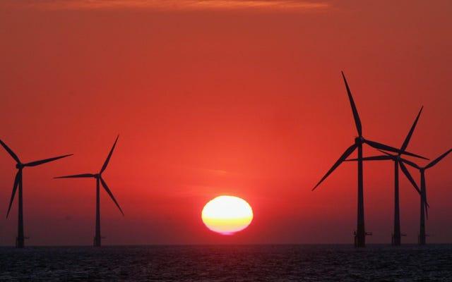 Великобритания установила веху в развитии ветроэнергетики