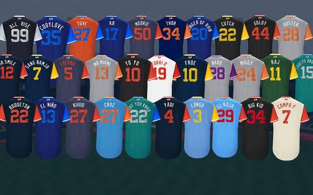 Estos son mis apodos favoritos de las camisetas de la MLB