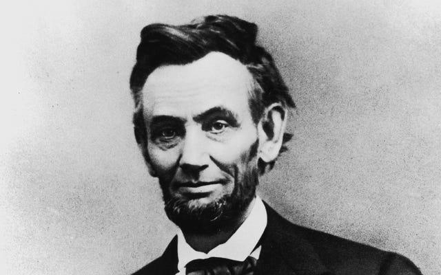 ग्रेट, अब 1941 से अबे लिंकन प्रतिमा के लिए हर किसी की सींग