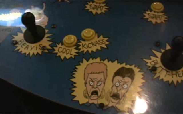 Аркадная игра Lost Beavis and Butt-Head найдена, восстановлена и теперь в нее можно играть