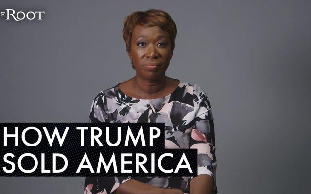 Joy-Ann Reid: Tutto su Donald Trump è una truffa