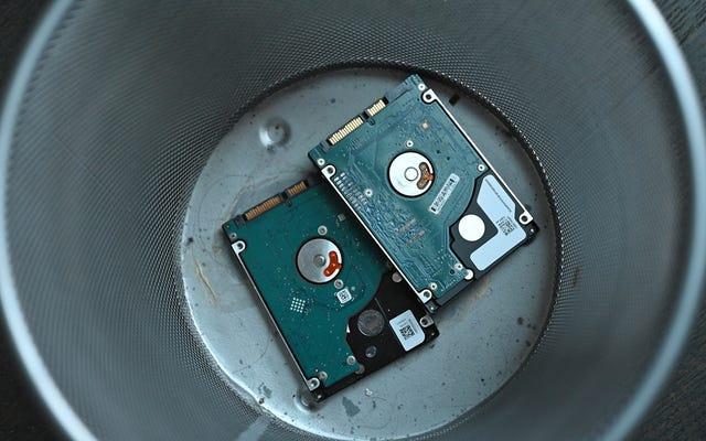 なぜ私はついに私のすべてのHDDを永遠に取り除くのですか