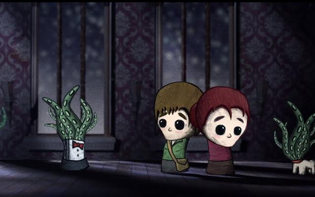 Ужасы Лавкрафта никогда не выглядели так очаровательно, как в этом короткометражном мультфильме