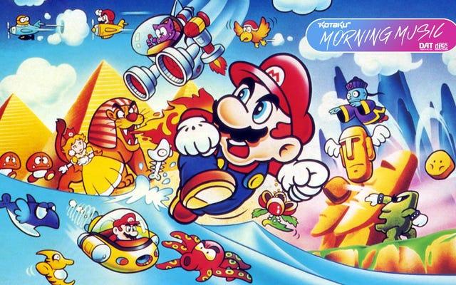 Super Mario Land era un poco pesado en el estéreo