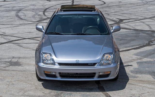 Conduire une Honda Prelude 1999 vous fera manquer des voitures honnêtes