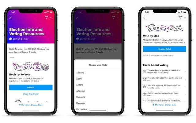ソーシャルメディアを使用して登録して投票する方法