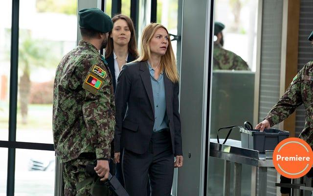 Premiera ostatniego sezonu Homeland nie marnuje czasu, narażając Carrie z powrotem na niebezpieczeństwo