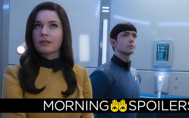 การอัปเดตเกี่ยวกับ Star Trek: โลกใหม่ที่แปลกประหลาดทฤษฎีและอื่น ๆ