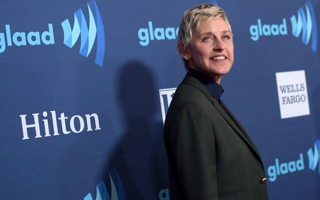 """Ellen DeGeneres giải quyết các cáo buộc lạm dụng nơi làm việc: """"Hôm nay chúng ta đang bắt đầu một chương mới"""""""