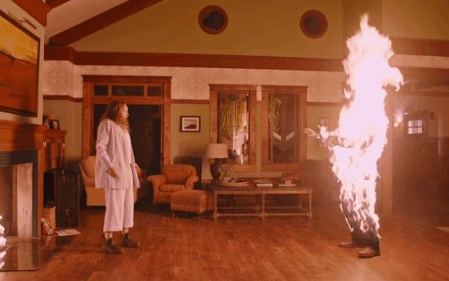 ピーターラビットの前に劇場が誤ってホラー映画の予告編を再生し、家族が悲鳴を上げる