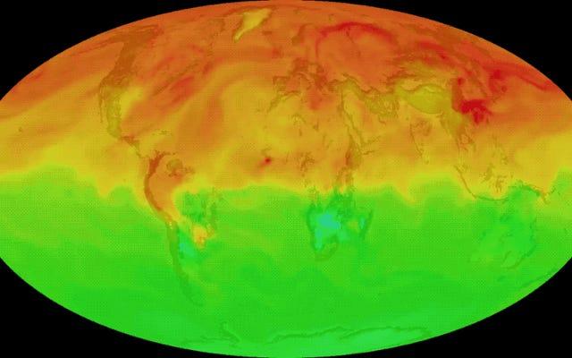 大気中のCO2の新記録:産業革命の開始時より46%多い