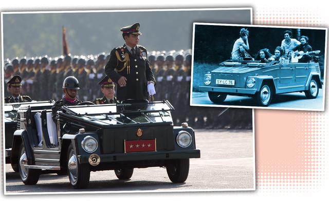 Holy Crap L'armée thaïlandaise utilise toujours des choses Volkswagen
