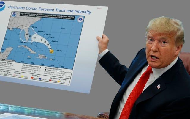 NOAA บอกกับนักวิทยาศาสตร์ให้ปิดปากของพวกเขาเกี่ยวกับการคาดการณ์ที่ผิดพลาดของทรัมป์: รายงาน