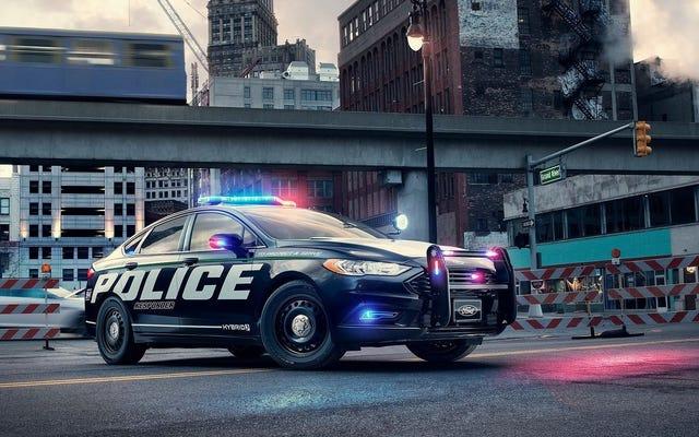 Ford veut des voitures de police électriques silencieuses