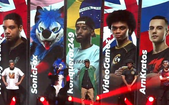 सोनिकफॉक्स ने विशिष्ट सोनिकफॉक्स फैशन में एक नश्वर कॉम्बैट घटना को दिखाया