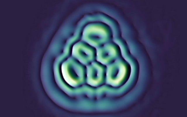 それらは、70年で誰も合成することができなかった完全な三角形の分子を作成します