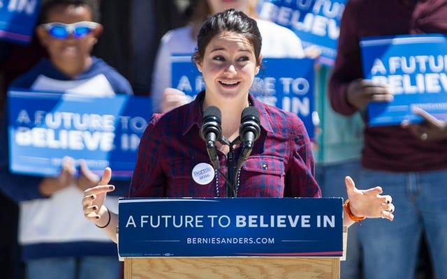 Shailene Woodley Bernie Sanders Destekçisidir, Hala Şaşırdınız mı?