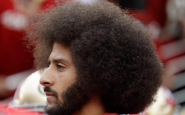 Orang Negro Terhormat Tidak Bisa Menyarankan Colin Kaepernick tentang Sial