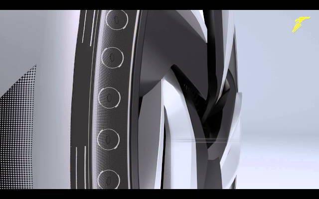 グッドイヤーのコンセプトタイヤはあなたの車に動力を与えるために熱を収穫します