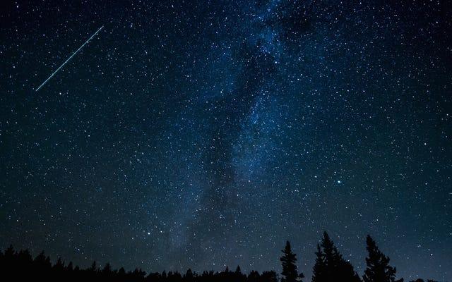 今夜のジャコビニ流星群の見方