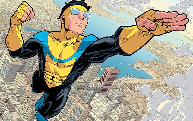 セス・ローゲンとエヴァン・ゴールドバーグがロバート・カークマンの無敵のコミックを映画に変えている