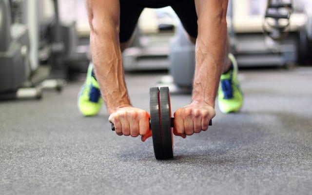 Come far succhiare meno la ruota addominale