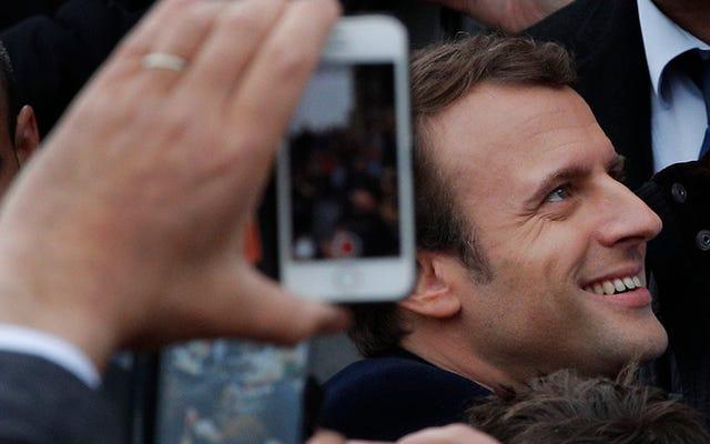 ハックにもかかわらず、マクロンはフランス大統領選挙でルペンを打ち負かす