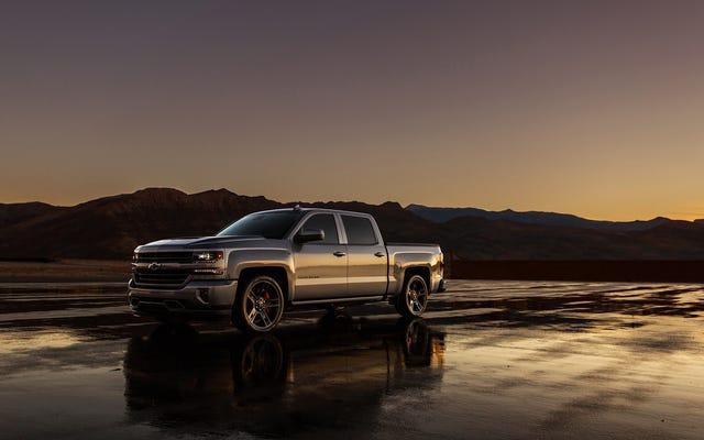 Le concept de performance Chevrolet Silverado 2018 a un cœur de fureur V8 suralimenté prêt au combat