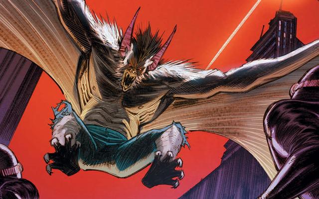 Man-Bat finalmente hará su debut en cómic en solitario el próximo mes