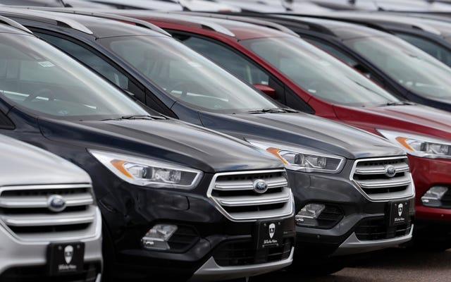連邦政府はカリフォルニアを支持した4つの自動車会社に独占禁止法の調査を開始します:レポート
