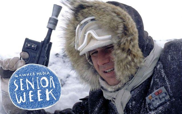 私はハン・ソロが寒いときだけ大好きです
