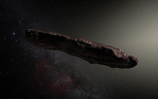 科学者たちは謎の星間小惑星オウムアムアの起源を解明したようです