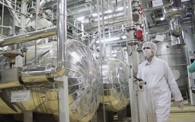 レポート:イランのサイトで検査官によって発見された微量のウラン
