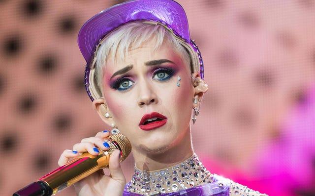Katy Perry znowu wygłupiała