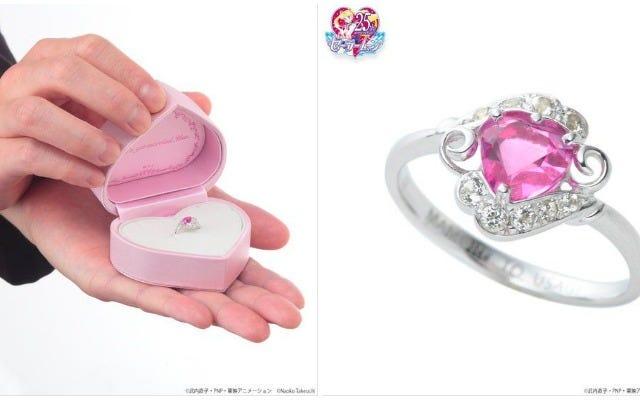 แหวนแต่งงานเซเลอร์มูนเพียง $ 1,486
