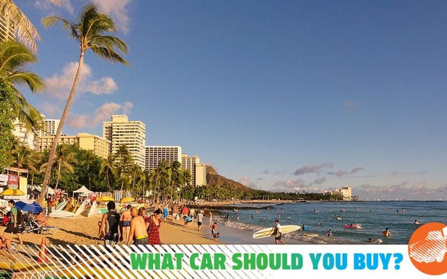 La marine m'envoie à Hawaï! Quelle voiture devrais-je acheter?