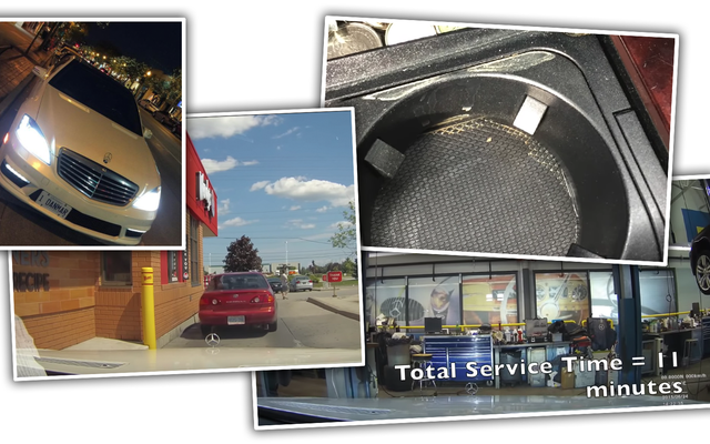 Dealer Mercedes Kanada Tertangkap Di Dashcam Mengambil AMG Pelanggan Pada Operasi Es Krim Dan Pengisian Berlebih Untuk Tenaga Kerja