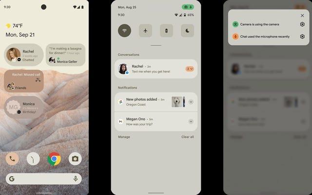 Wyciekające zrzuty ekranu z Androida 12 pokazują nadchodzące zmiany podobne do iOS