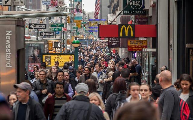 Ожидаемая продолжительность жизни в США снизилась впервые за десятилетия