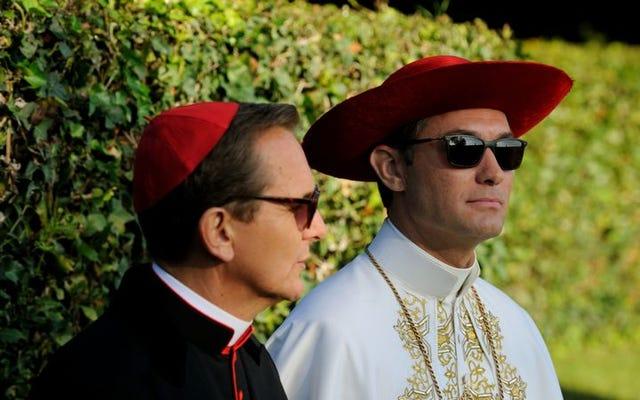 グティエレスは、若い教皇の非常に特別なエピソードでスポットライトを当てます