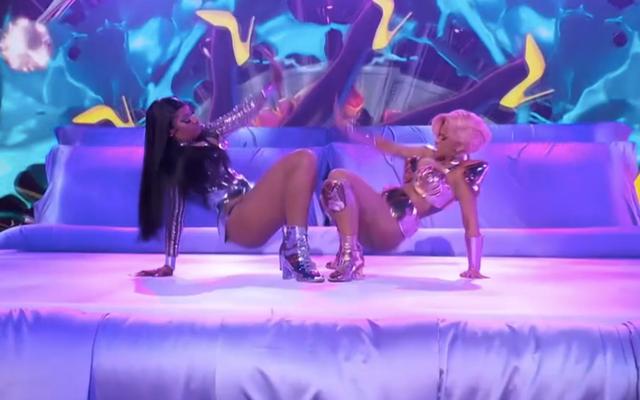 """Mira lo explícito que Cardi B y Megan Thee Stallion pudieron hacer """"WAP"""" en los Grammy"""