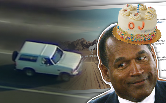 Ford zamierza wypuścić nowego Bronco w urodziny OJ'a i jest albo genialny, albo kretyński, albo jedno i drugie