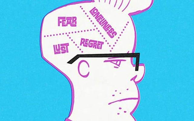 画像限定:マーク・マロンが最低賃金で神経症の漫画家のために演じる