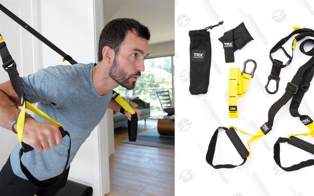 Ubah Setiap Ruangan Menjadi Home Gym Dengan Kesepakatan Kit Suspensi TRX Ini