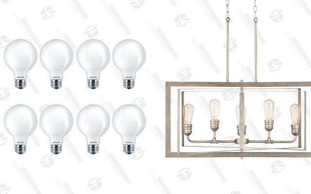 ホームデポで一部のランプと電球を最大40%オフで入手できます