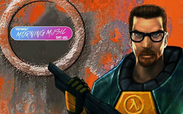 Half-Lifeの音楽は他の音楽と同じくらい素晴らしかった