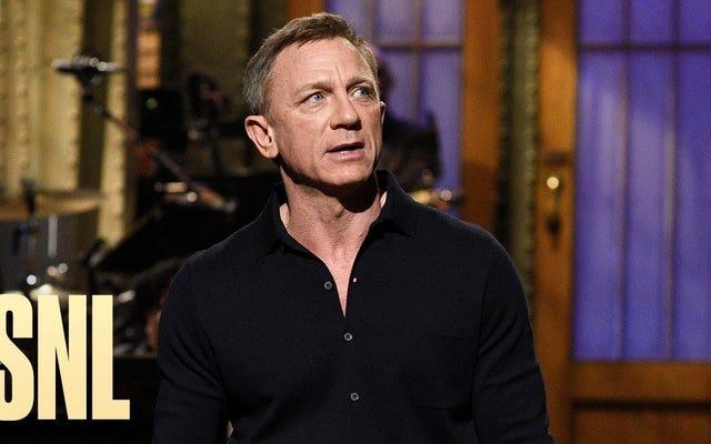 El entusiasmo de Daniel Craig lo convierte en un SNL enérgico y agradable