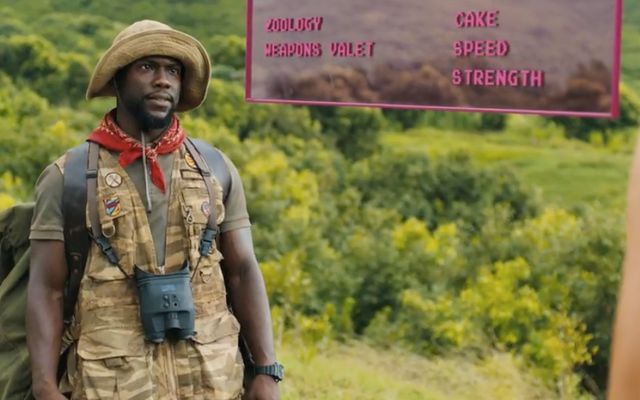Tonton Kevin Hart's Death by Cake di New Jumanji: Welcome to the Jungle Trailer