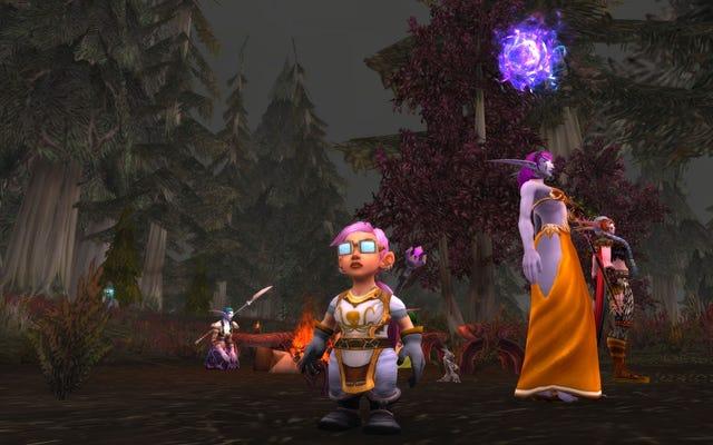 जब जीवन कठिन हो जाता है, तो मैं Warcraft चरित्र की एक नई दुनिया बनाता हूं
