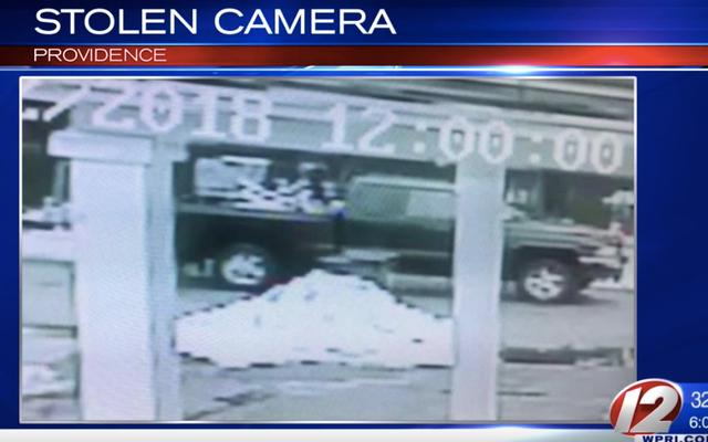 Des voleurs audacieux s'en tirent avec une caméra de 80000 $ conçue pour attraper les conducteurs rapides